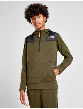 The North Face Tenacious 1/2 Zip Hoodie Junior by The North Face