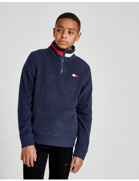 Tommy Hilfiger Polar Fleece 1/4 Zip Sweatshirt Junior by Tommy Hilfiger