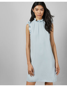 Ruffle Collar Dress by Ted Baker