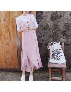 Miss Yoyo   Strappy Midi Dress by Miss Yoyo
