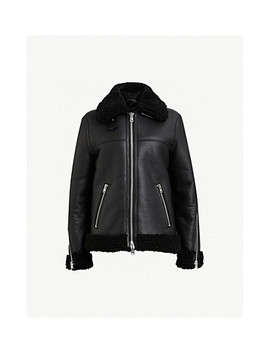 Jaya Shearling Jacket by Allsaints