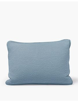 Coyuchi® Cascade Organic Cotton Matelasse Pillow Sham by Madewell