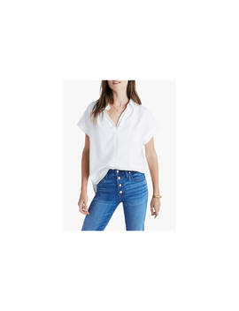 Madewell Central Shirt, Pure White by Madewell