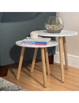 Zipcode Design Chantay 2 Piece Nesting Tables & Reviews by Zipcode Design