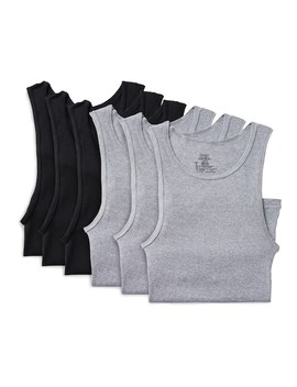 Men's Hanes 6 Pack Ultimate Dyed A Shirts by Kohl's