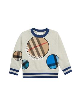 Check Dots Sweatshirt by Burberry