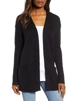Open Front Pocket Cardigan by Caslon®