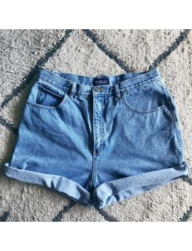 Honors Button Pocket Denim Shorts by Etsy