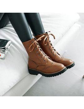 Kireina   Lace Up Short Boots by Kireina