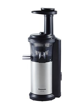 Panasonic Mj L500 Slow Juicer With Frozen Treat Attachment, Black/Silver by Panasonic
