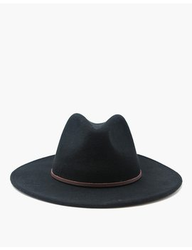 Wyeth™ Corgan Fedora Hat by Madewell