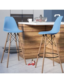 "Langley Street Alyssa 29.5"" Bar Stool & Reviews by Langley Street"