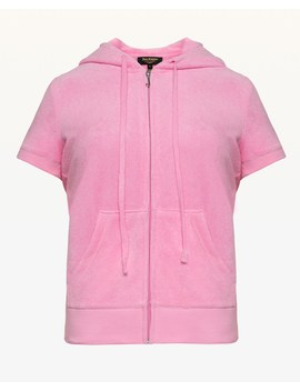 Microterry Short Sleeve Robertson Jacket by Juicy Couture