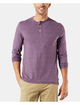 Men's Alpha Henley Shirt by Dockers