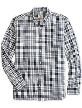 Mens Slim Fit Flannel Tartan Shirt by Brooks Brothers