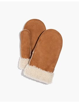 Madewell X Owen Barry™ Shearling Mittens by Madewell