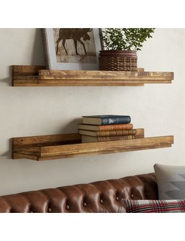Union Rustic Oconner Floating Shelf & Reviews by Union Rustic