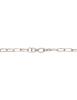 Ssense Exclusive Silver Gunnar Wallet Chain Belt by Martine Ali