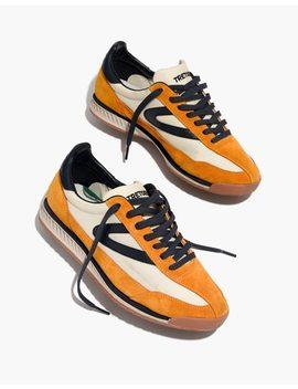 Tretorn® Rawlins2 Sneakers In Lemon Suede by Madewell