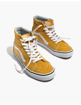 Vans® Unisex Sk8 Hi High Top Sneakers In Ochre Suede by Madewell