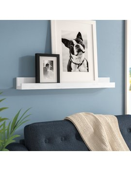 Picture Frame Floating Shelf by Zipcode Design