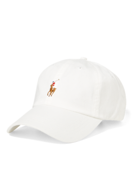 Cotton Twill Baseball Cap by Ralph Lauren