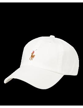 Cotton Twill Baseball Cap by Ralph Lauren