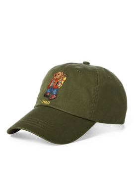 Outdoors Bear Baseball Cap by Ralph Lauren