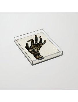Palmistry Acrylic Tray by