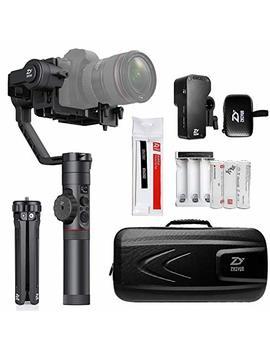 Zhiyun Crane 2 Handheld Gimbal Stabilizer For Camera (New Package With Servo Follow Focus) by Zhiyun