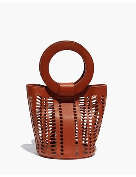Modern Weaving™ Mini Jute Circle Handle Bucket Bag by Madewell