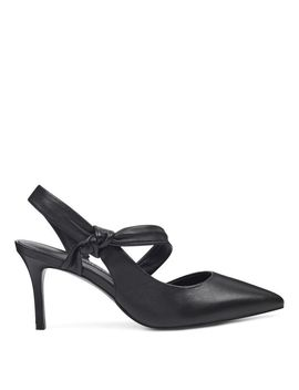 Mamelu Knotted Slingback Pumps by Nine West