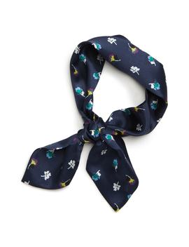 Floral Silk Tie Scarf by Halogen®