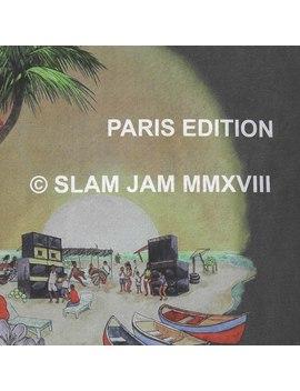 Slam Jam Paris Edition Hellshire Pig. Dyed Long Sleeves T Shirt Black by Stussy