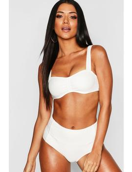Mix & Match Push Up Balconette Top by Boohoo