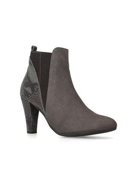 Carvela Comfort   Taupe 'roxie' High Heel Ankle Boots by Carvela Comfort