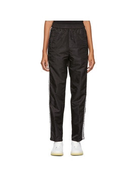 Black Nylon Warm Lounge Pants by Opening Ceremony