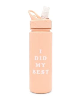Work It Out Water Bottle   I Did My Best by Ban.Do