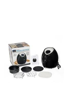 Black 5.8 Quart Air Fryer by Yedi