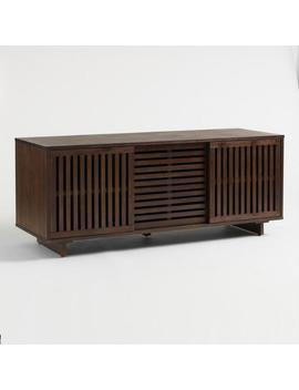 Wood Sliding Door Hopkins Media Cabinet by World Market