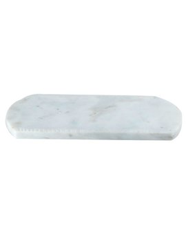 Charlton Home Robstown Marble Stone Oval Serving Tray by Charlton Home