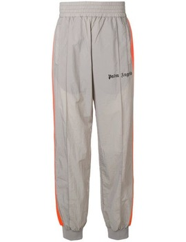 Logo Print Track Trousers by Palm Angels