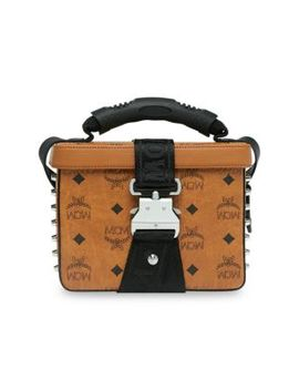 Jemison Visetos Crossbody Bag by Mcm
