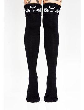 Meowgical Long Socks by Killstar