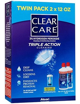 Clear Care No Rub Cleaning & Disinfecting Solution Value Pack 24 Fl Oz (710 Ml) by Ciba Vision Corporation.