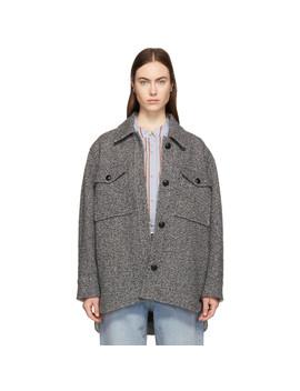 Grey Garvey Coat by Isabel Marant Etoile