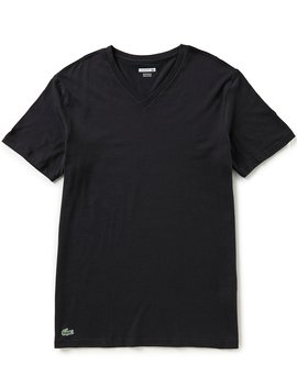 Essential V Neck Tees 3 Pack by Lacoste