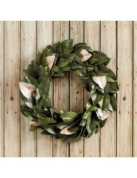 Southern Magnolia Gold Accent Wreath by Ballard Designs