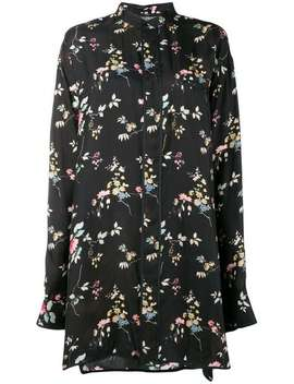 Floral Long Sleeve Shirt by Haider Ackermann