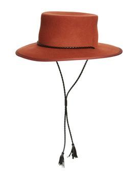 X Biltmore® Felt Stampede Strap Hat by Madewell